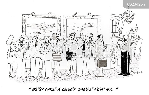 reserving cartoon
