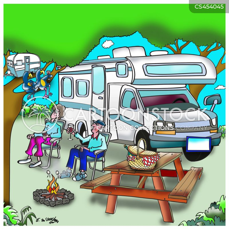 campervans cartoon