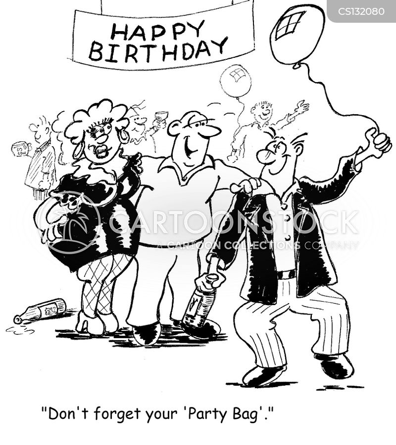 party bags cartoon