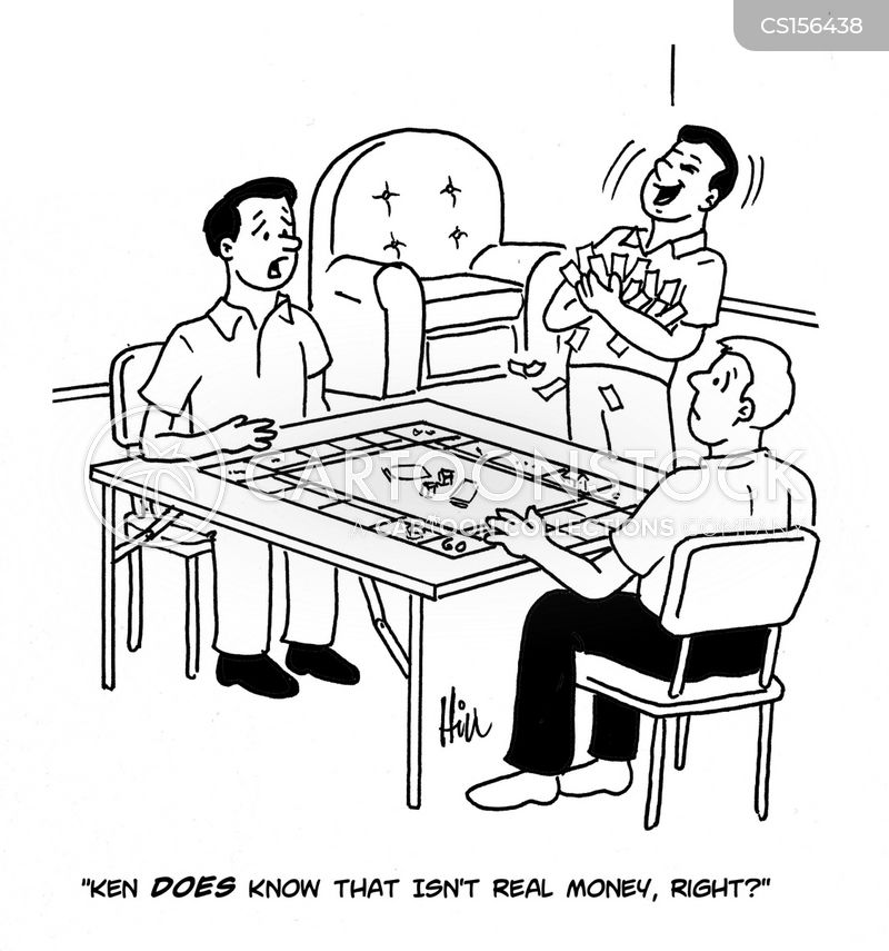 boardgame cartoon