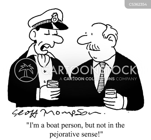 boat people cartoon