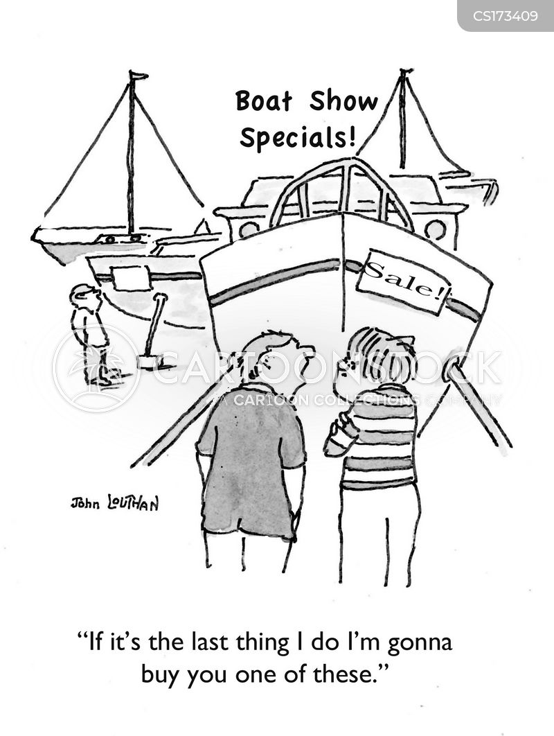 sail boat cartoon