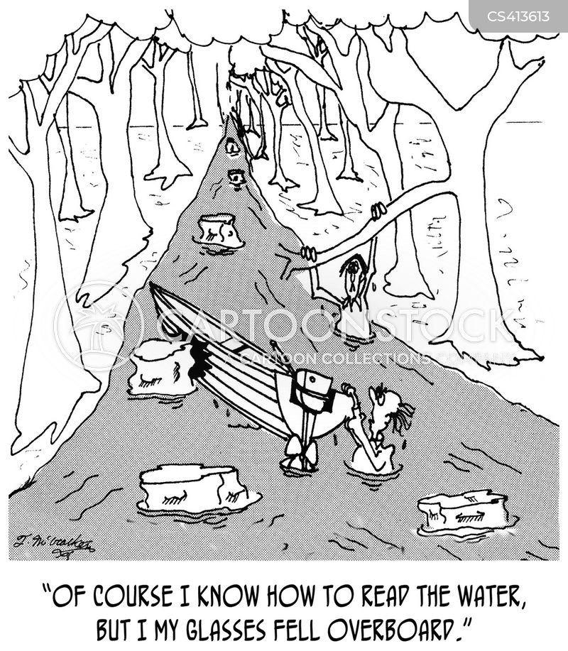 boating accidents cartoon