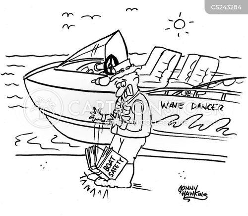 speed boat cartoon