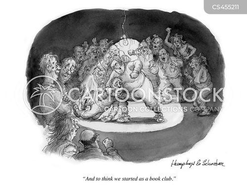 reading groups cartoon