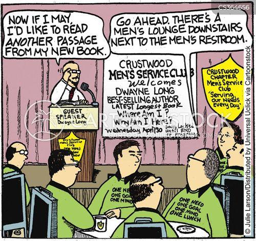 hecklers cartoon