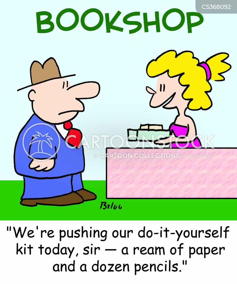 book recommendations cartoon