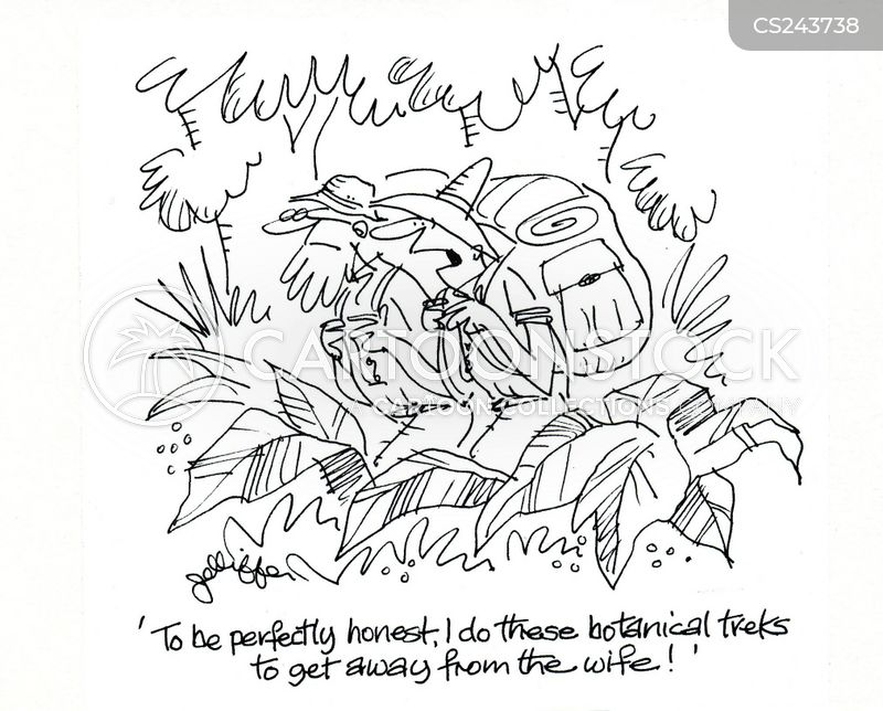 botanical cartoon