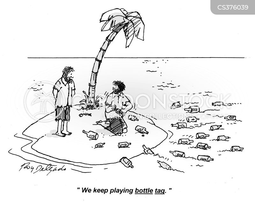 floated cartoon