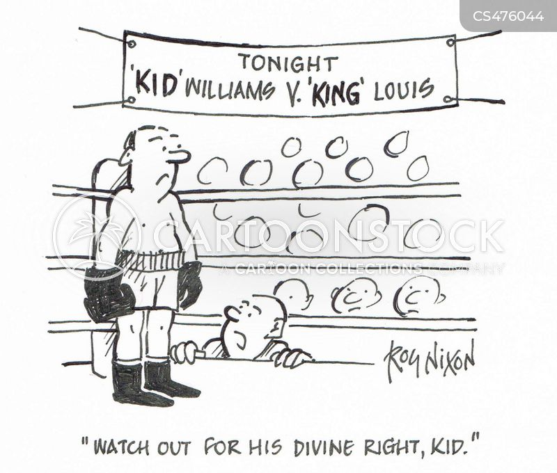divine right of kings cartoon
