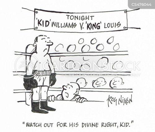 divine rights cartoon