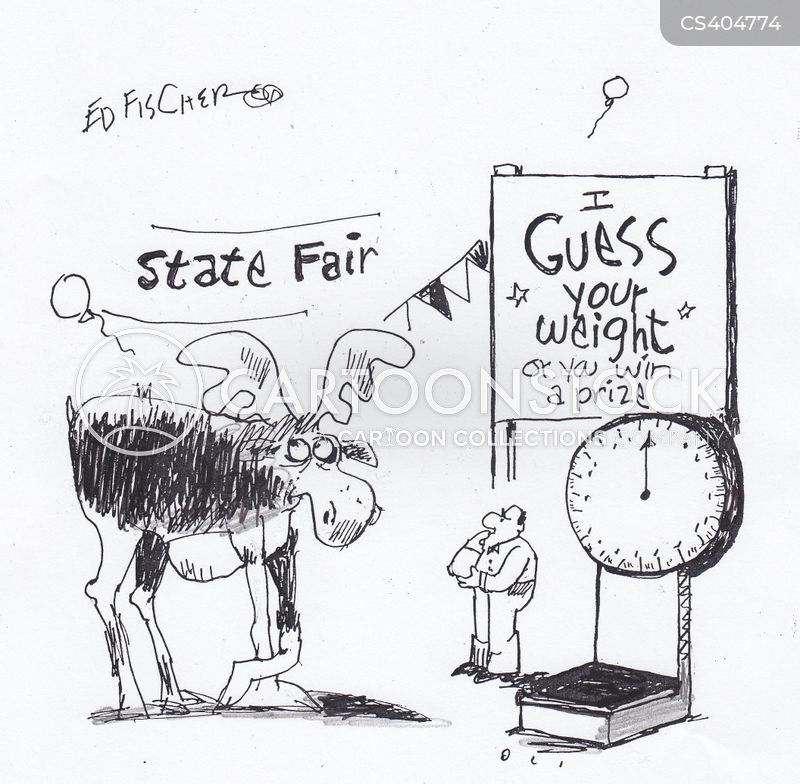 carnival stands cartoon