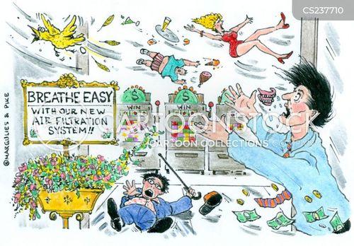 respiration cartoon