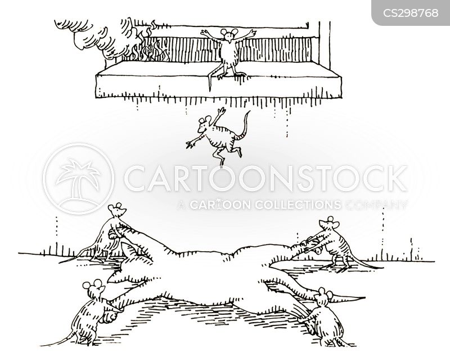 101 uses of a dead cat cartoon