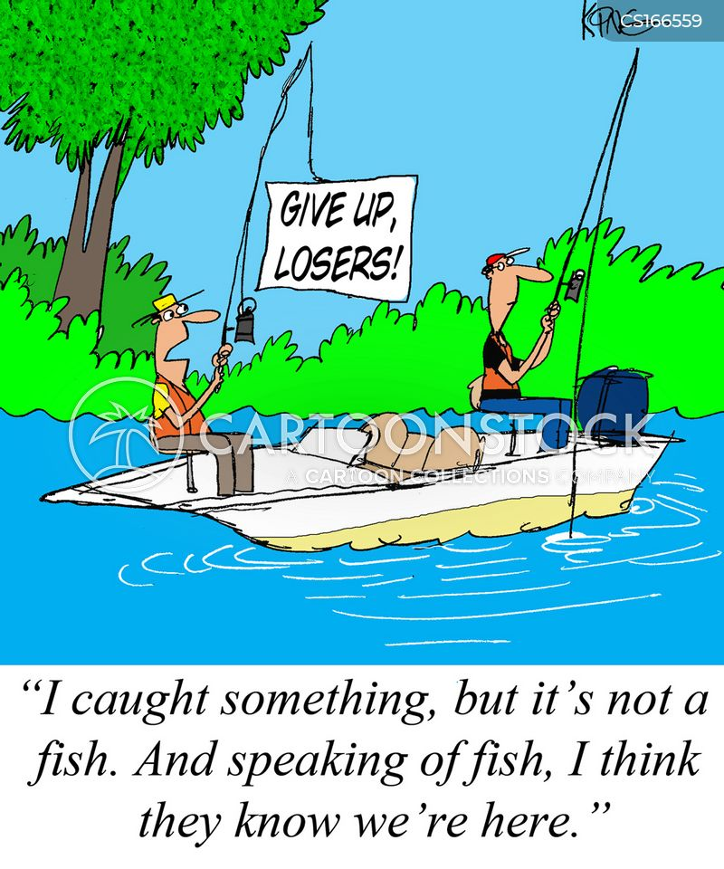 Funny cartoon fishing - photo#9