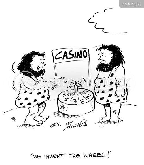 roulette cartoon