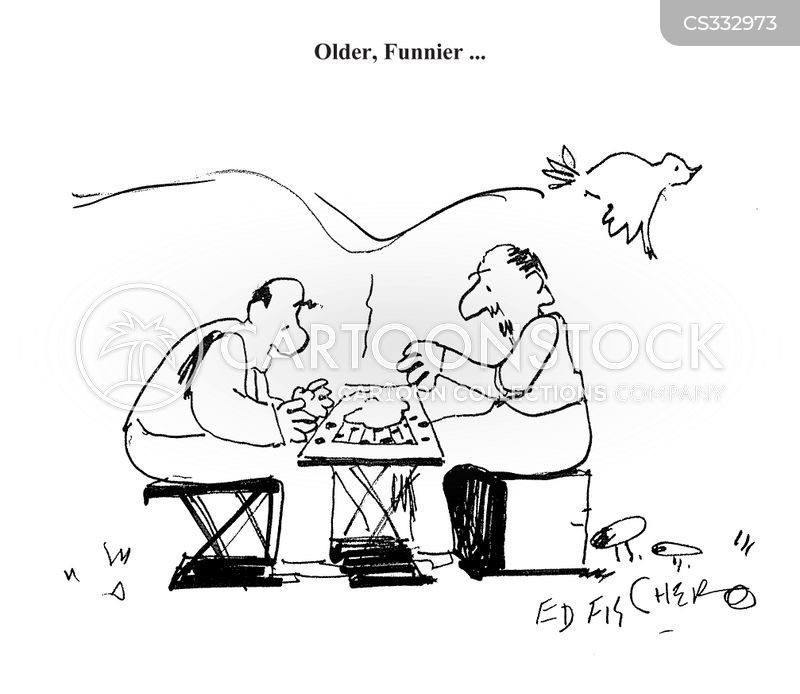 checkers boards cartoon