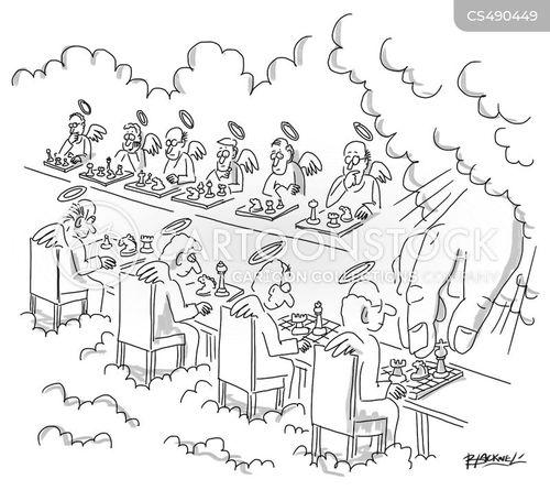 chess-boards cartoon