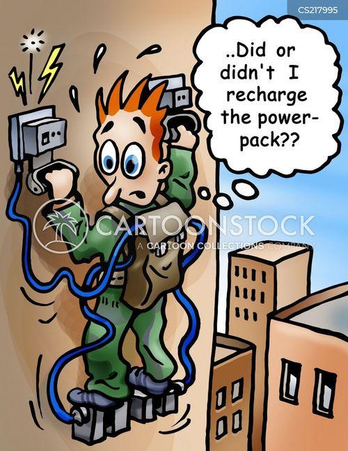 power failure cartoon