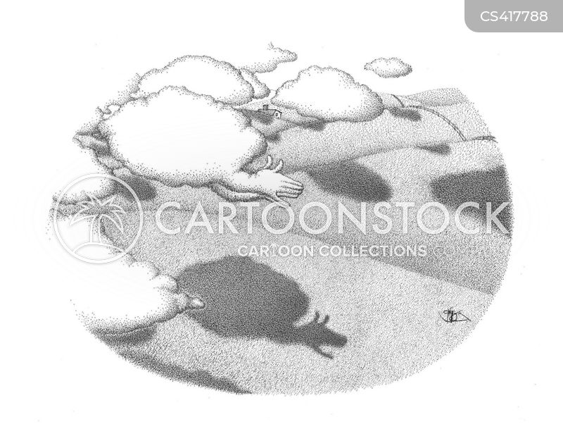cloudy cartoon