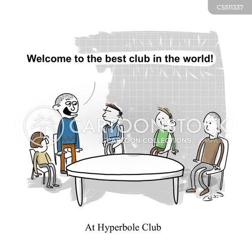 hyperboles cartoon