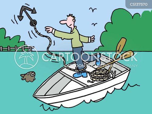 row boats cartoon
