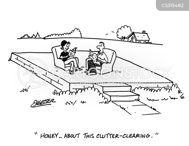 Image result for comics about clutter