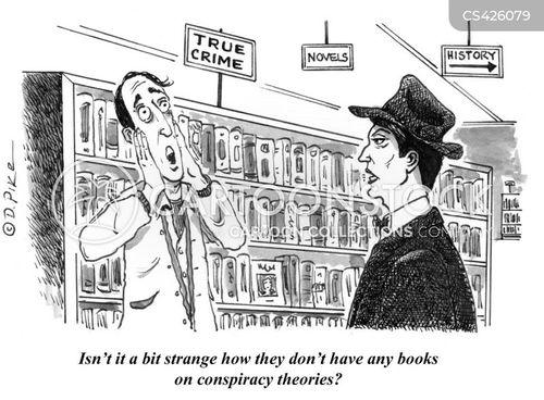 true crime cartoon