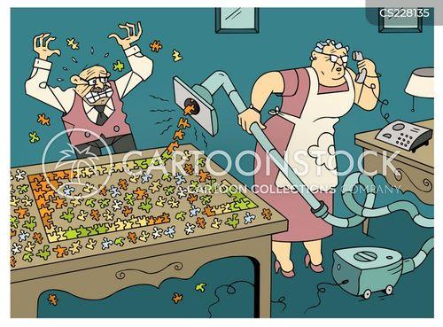jigsaw pieces cartoon