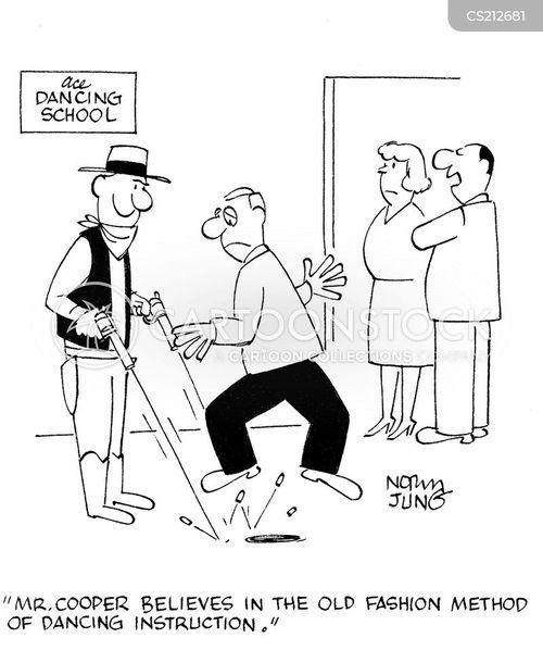 dancing lesson cartoon