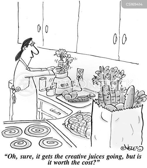 veg cartoon