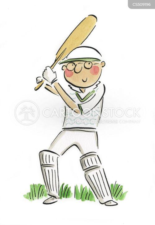 sportsperson cartoon