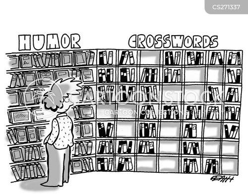 puzzle book cartoon