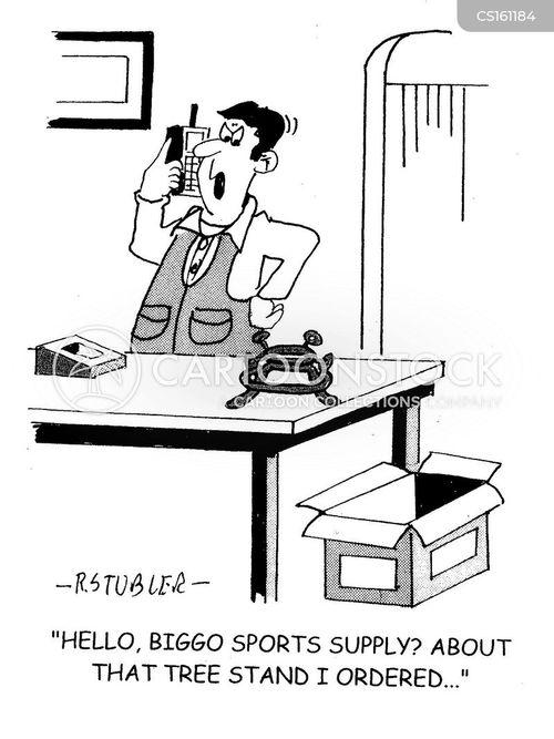 sports supply cartoon