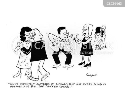 dance lessons cartoon
