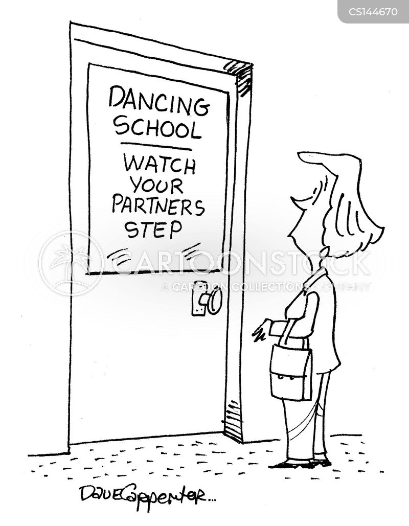 dance courses cartoon