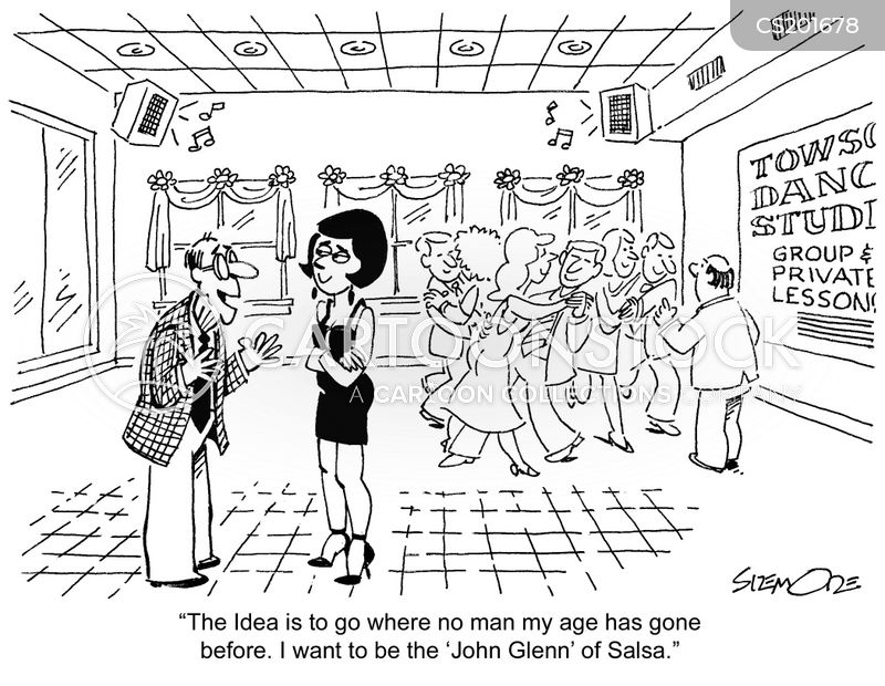 Dance Instruction Cartoons And Comics Funny Pictures From Cartoonstock