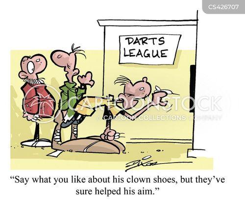 pub games cartoon