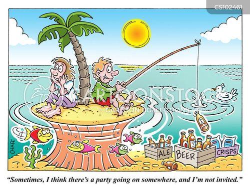 party snacks cartoon