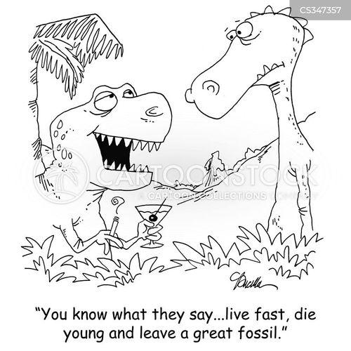 fast lanes cartoon