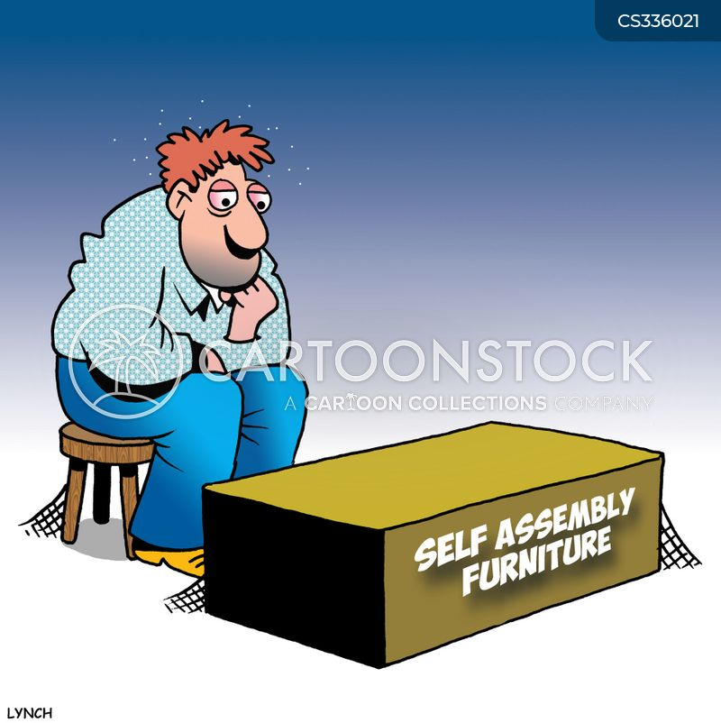 Self Assemble Furniture self-assemble cartoons and comics - funny pictures from cartoonstock