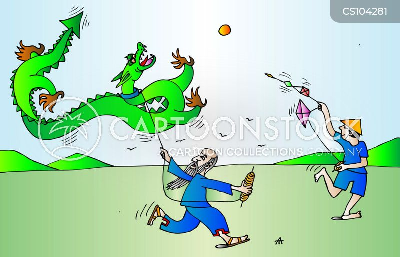 Chinese Dragon Cartoons and Comics  funny pictures from CartoonStock