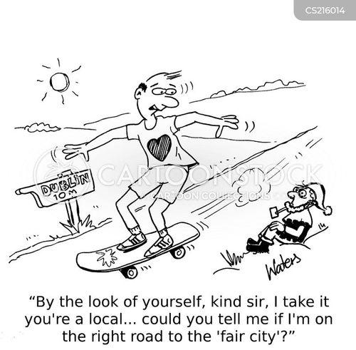 dublin cartoon