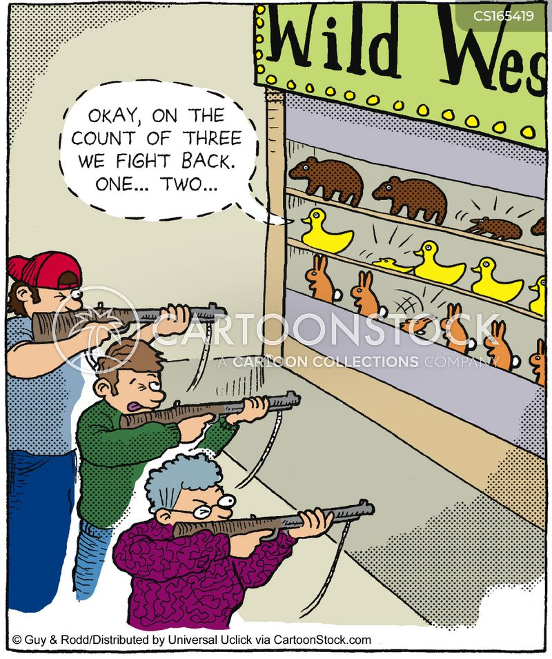 rifle cartoon