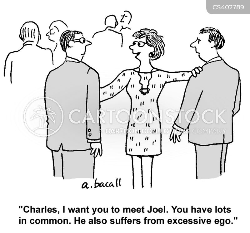 big headedness cartoon