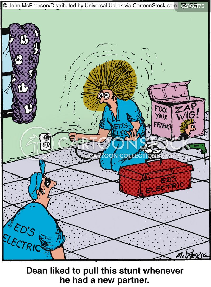 repair men cartoon