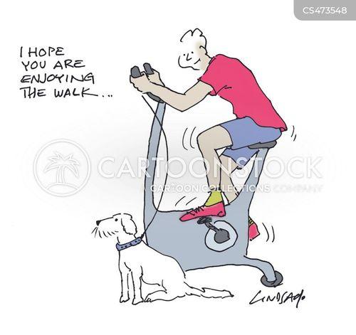 cycle machine cartoon