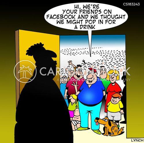 social calls cartoon