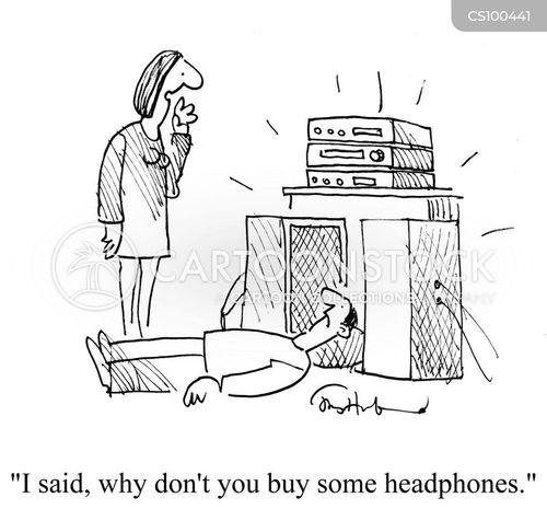 sound systems cartoon