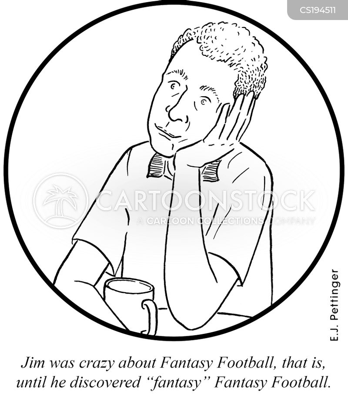 football manager cartoon